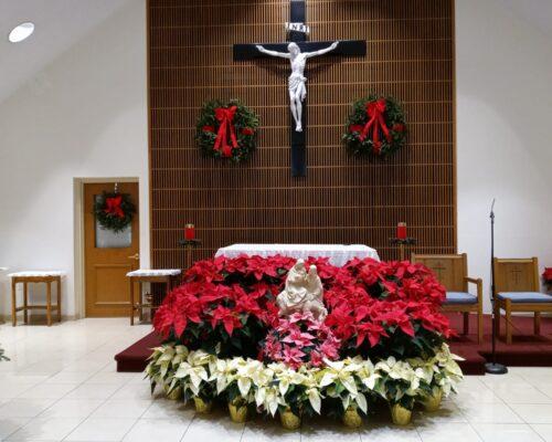 Saint Anthony Church Christmas Transformation