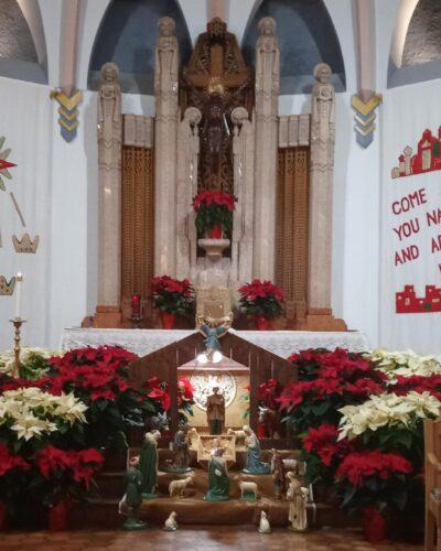 Christmas Dec 25,2020 St. Teresa