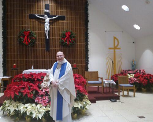 Father Hugh Burns Christmas 2020-21